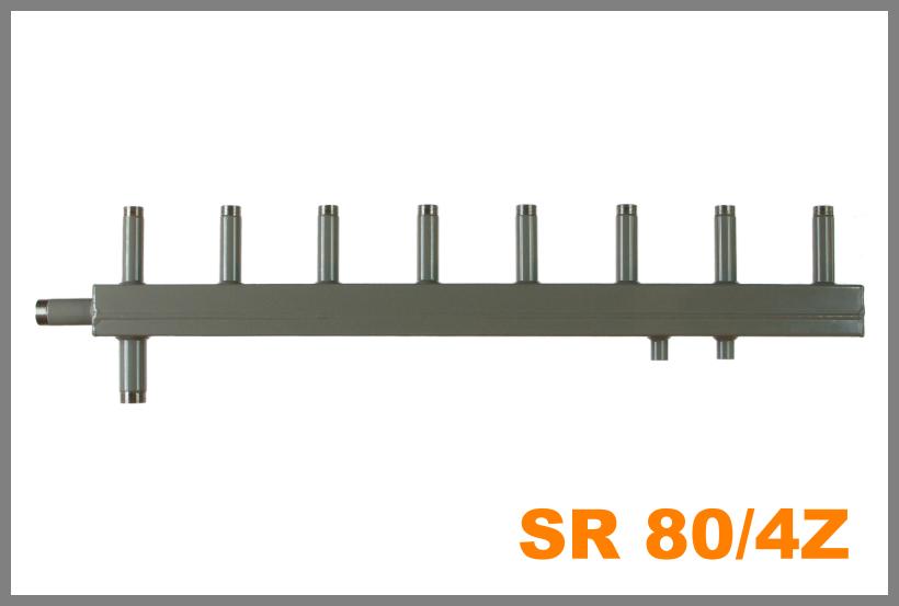 """SR 80/4Z připojení 5/4"""" (Sdružený rozdělovač )"""