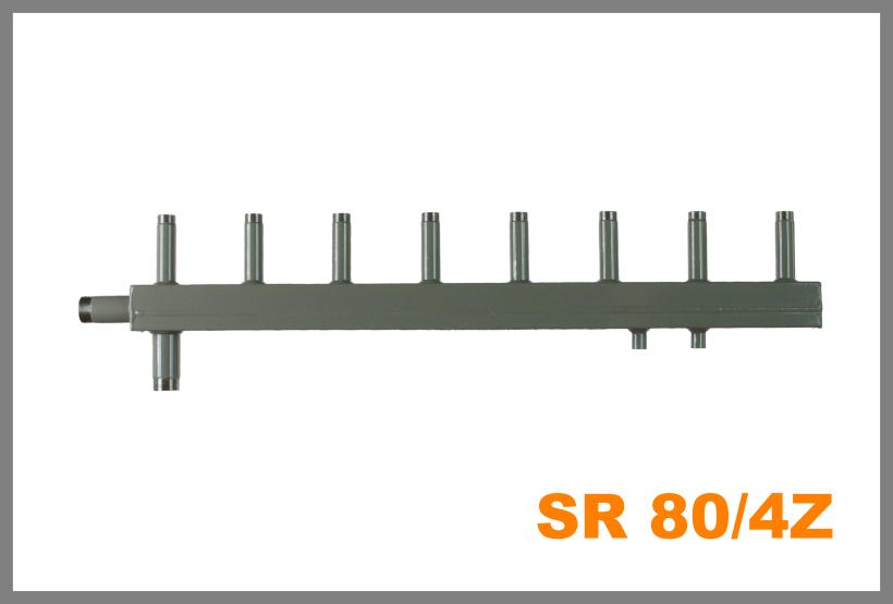 """SR 80/4Z připojení 6/4"""" (Sdružený rozdělovač )"""